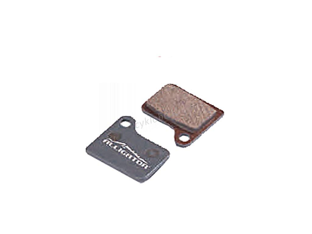 Brzdové destičky PRO-T Plus AGR Semi-Metallic na Shimano Hydraulic