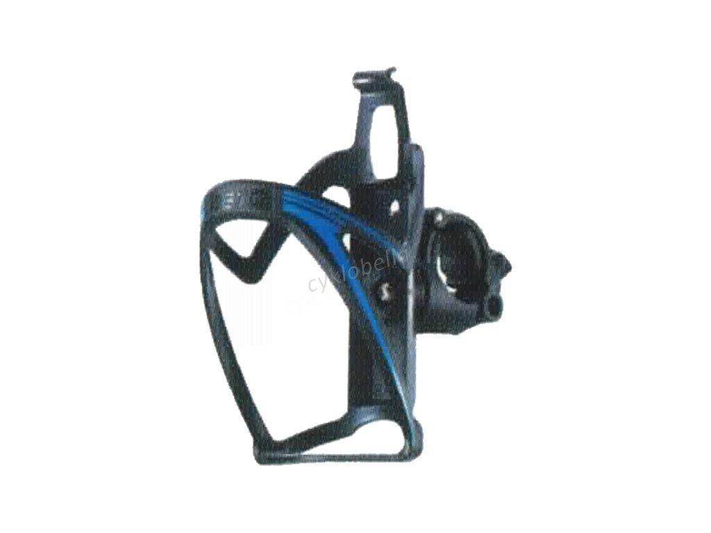 Košík PRO-T plast na řídítka 110 - černo-modrá