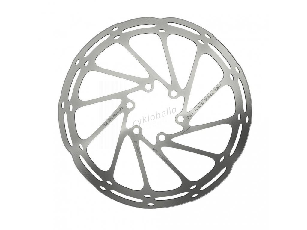 SRAM ROTOR CNTRLN 180MM ROUNDED