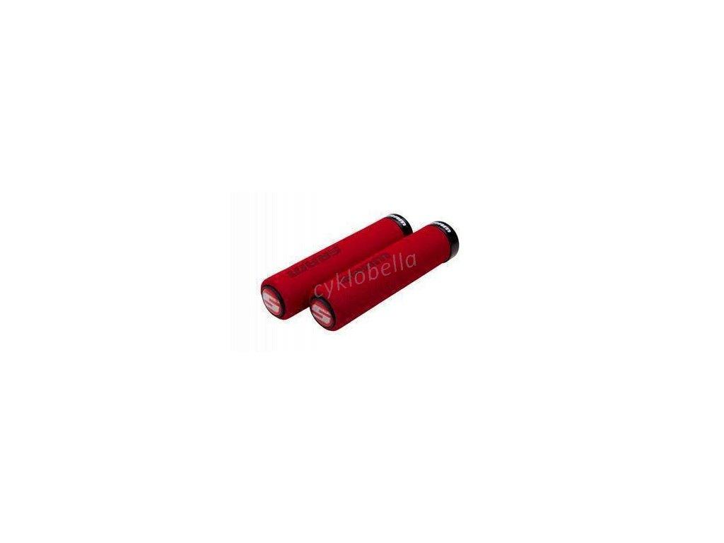 SRAM SRAM LOCKING GRIPS FOAM 129 RED/BLK