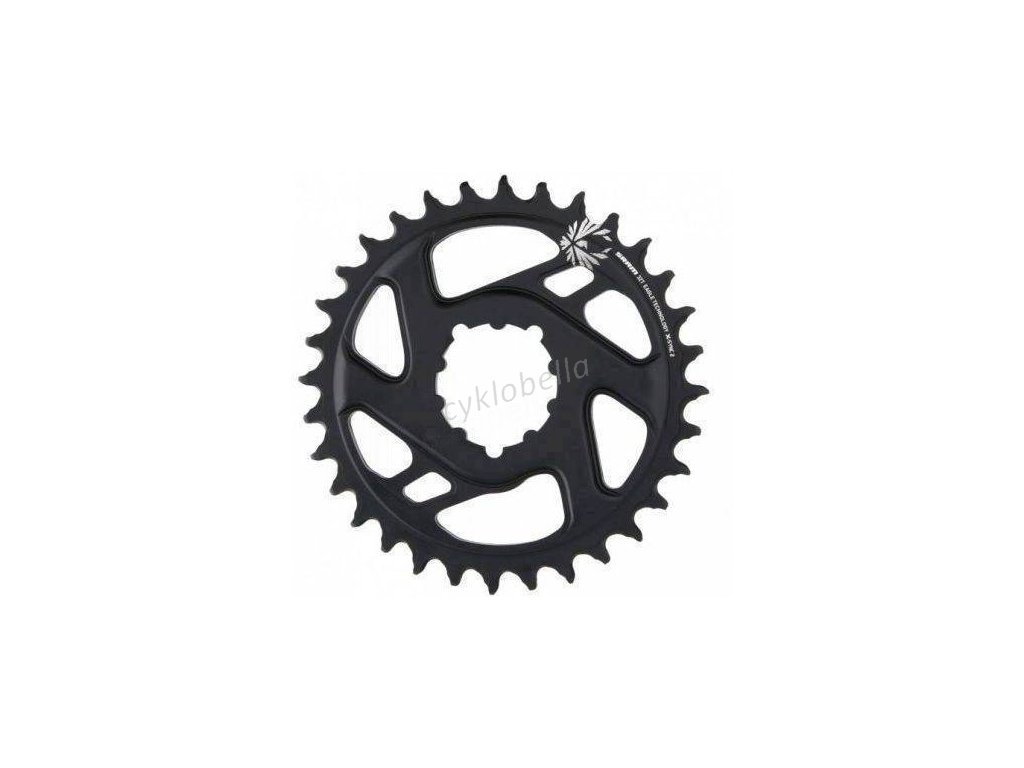 SRAM CR X-SYNC EAGLE CF 32T DM 6 OFF BLK