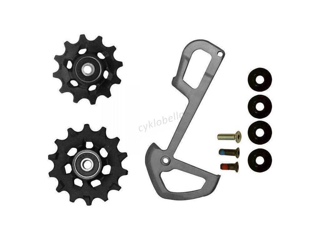 SRAM RD X01 EAGLE PULLEYS AND INNER CAGE GRY