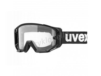2021 UVEX ATHLETIC, BLACK MAT, SL CLEAR (2028) Množ. Uni
