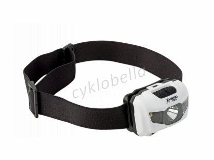 Čelovka X-Head 150 lm bílá/černá