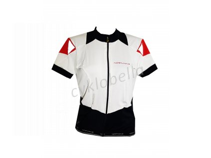 krátký dámský dress EVOLUTION Northwave white-black-red vel XL (EU 48)