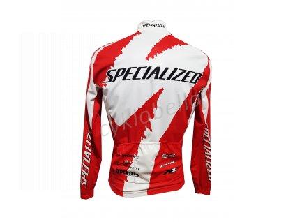 pánská cyklistická bunda SPECIALIZED REPLICA TEAM červená vel. S