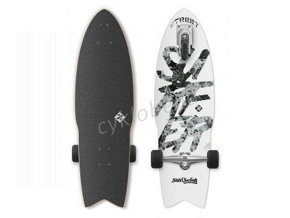 "Longboard Street Surfing SHARK ATTACK 30"" Great White"