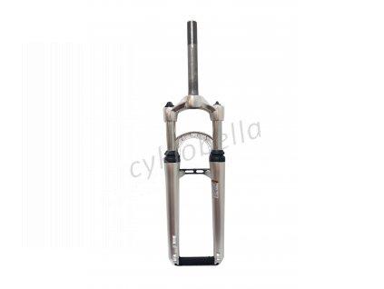 """Vidlice SUNTOUR XCT-MLO , 26"""" 80mm Pivot, délka sloupku 180mm, závit 1"""" , stříbrná"""