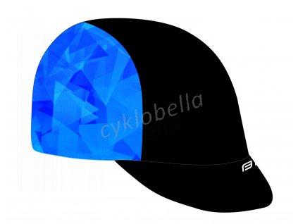 čepička s kšiltem FORCE CORE letní,črn-modrá L-XL