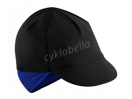 čepička s kšiltem FORCE BRISK zimní,črn-modrá S-M
