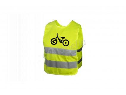 Dětská reflexní vesta KELLYS STARLIGHT bike - M