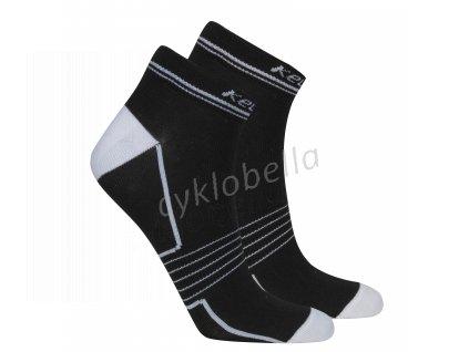 Ponožky KELLYS FIT black 38-42