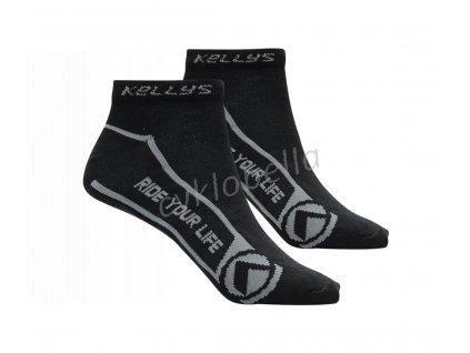 Ponožky KELLYS FIT black 43-47
