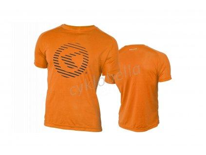 Tričko KELLYS ACTIVE krátky rukáv orange - XXL