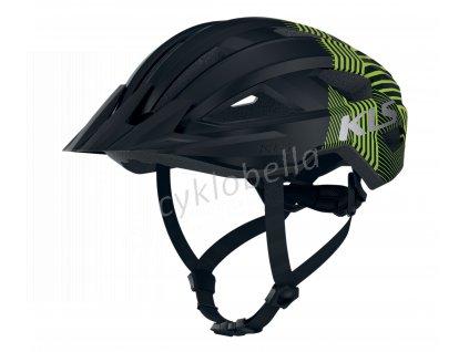 Přilba DAZE black green S/M