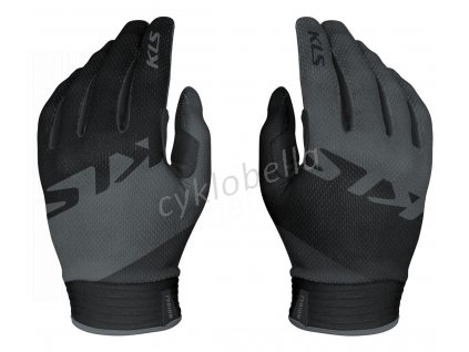 Rukavice KLS TYRION, dlhoprsté, black, L