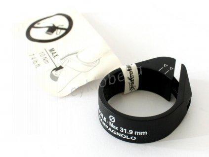 Campagnolo objímka sedlovky Seatpost Clamp Min 31.6 - Max 31.9mm Black