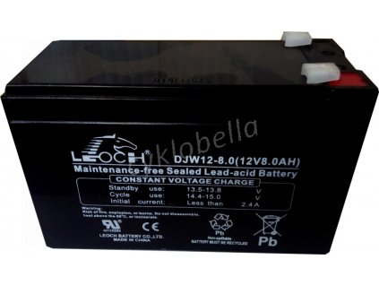 baterie Eurocase NP8-12, 12V, 8Ah