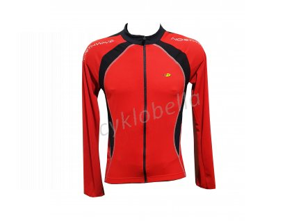 dres NW BLADE JERSEY SL RED /BLACK vel.L