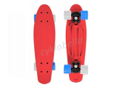 Skateboard FIZZ BOARD Red