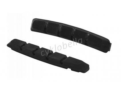 SHIMANO destičky pro kazetový typ brzdových špalíků S70C tvrdé, MTB, 1 pár