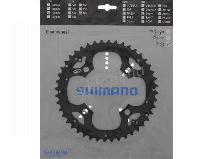 SHIMANO převodník FCM530 44z, černý