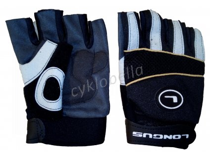 LONGUS rukavice MTB, černé, M