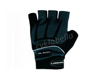 LONGUS rukavice GEL SHOCK, černé, M