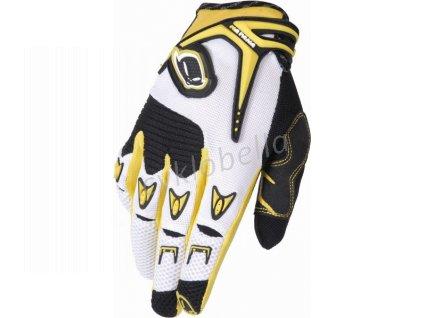 UFO PLAST rukavice KATANA, žlutá, M
