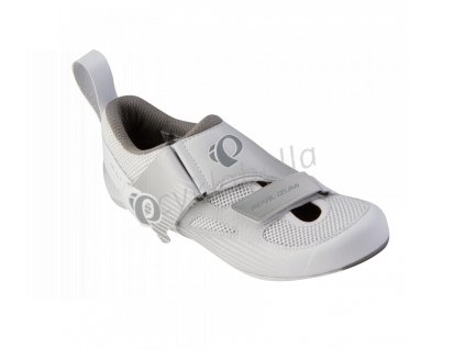 PEARL iZUMi obuv W TRI FLY IV CARBON, bílá/PALOMA, 40