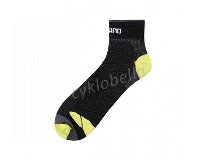 SHIMANO Turbo ponožky, černá, S