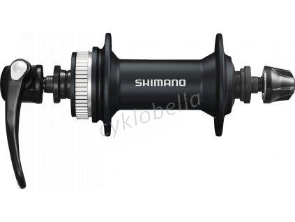 SHIMANO nába přední ALIVIO HB-M405 pro kotouč (centerlock) 36 děr RU: 133 mm černá