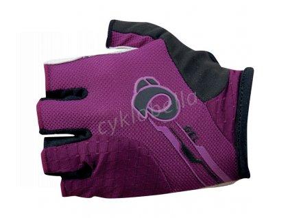 PEARL iZUMi W ELITE GEL rukavice, fialová, S