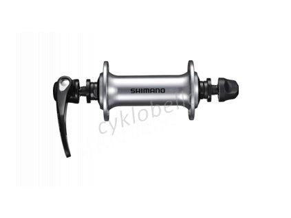 SHIMANO nába přední TIAGRA HB-RS40 pro ráfkovou brzdu 32 děr RU: 133 mm stříbrná