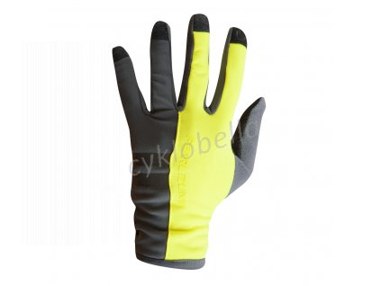 PEARL iZUMi ESCAPE THERMAL rukavice (7 - 18°C), SCREAMING žlutá, XXL