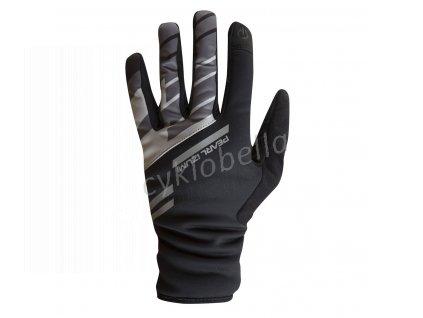 PEARL iZUMi PRO SOFTSHELL LITE rukavice, černá, L