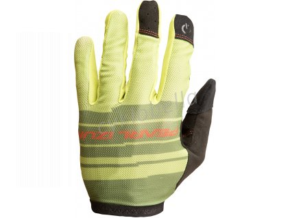 PEARL iZUMi DIVIDE rukavice, CITRON, L