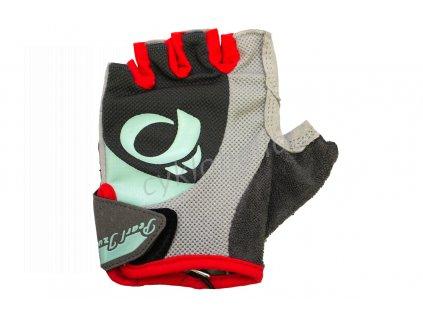 PEARL iZUMi W SELECT rukavice, STEEL šedá / MIST zelená, S