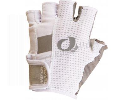 PEARL iZUMi W ELITE GEL rukavice, bílá, L