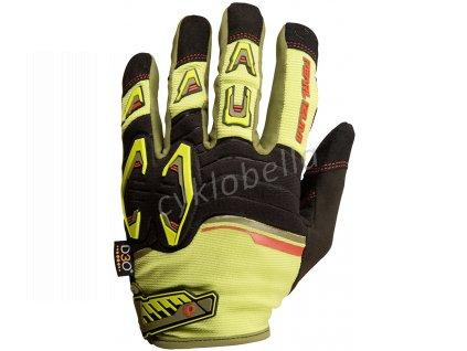 PEARL iZUMi LAUNCH rukavice, CITRON / černá, XL