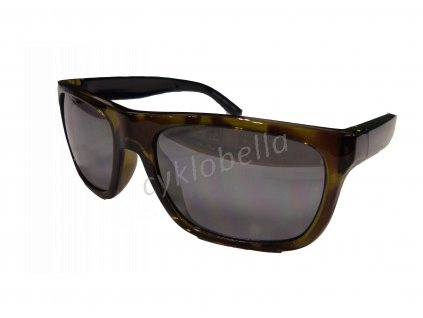 SHIMANO brýle S23X, Transparentšedá, skla kouřová Siver