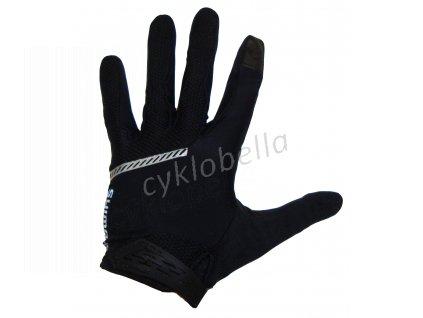SHIMANO Original celoprsté rukavice, černá, XL