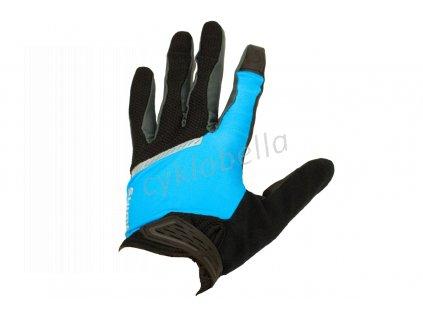 SHIMANO Original celoprsté rukavice, černá/modrá, XL