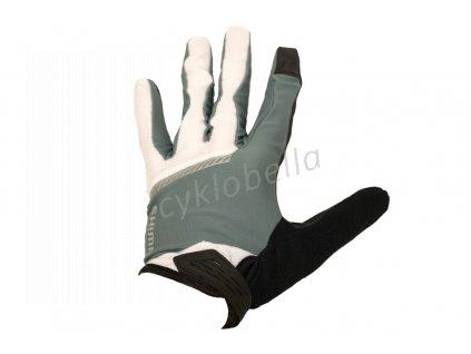 SHIMANO Original celoprsté rukavice, šedá, XL