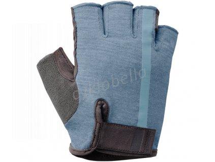 SHIMANO Transit rukavice, Aegean modrá, S