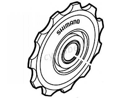 SHIMANO kladka horní RD-A551
