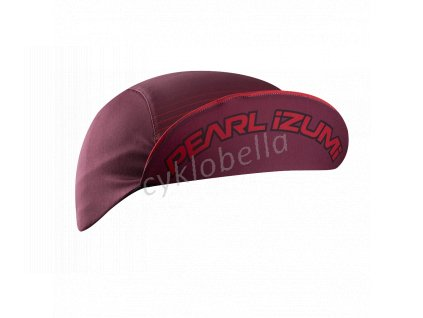 PEARL iZUMi TRANSFER CYCLING CAP, PORT/ROGUE červená DASH, ONE