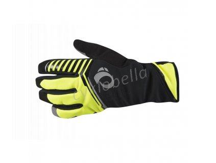 PEARL iZUMi PRO AMFIB rukavice (-10 - 5°C), SCREAMING žlutá, XL