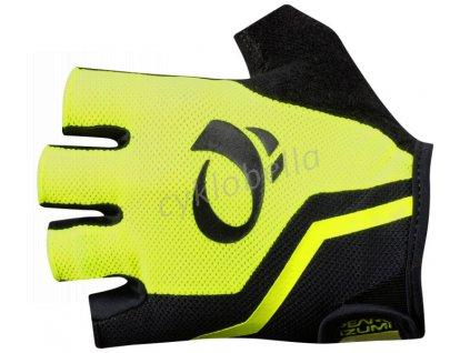 PEARL iZUMi SELECT rukavice, SCREAMING žlutá/černá, M