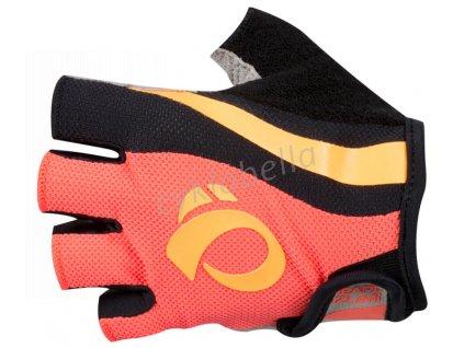 PEARL iZUMi W SELECT rukavice, FIERY CORAL/ORANGE POP, L